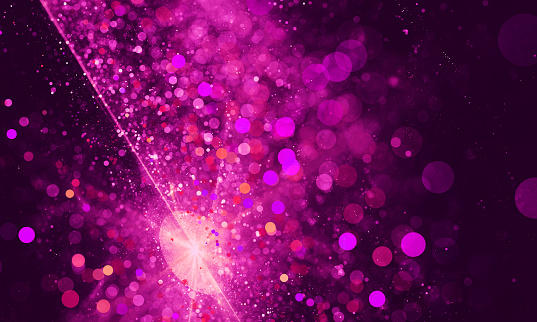 Abstract pink spotted bokeh background - gettyimageskorea