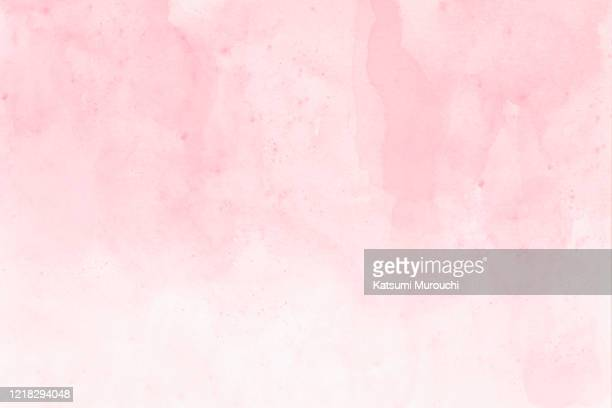 abstract pink watercolor background - aquarellhintergrund stock-fotos und bilder