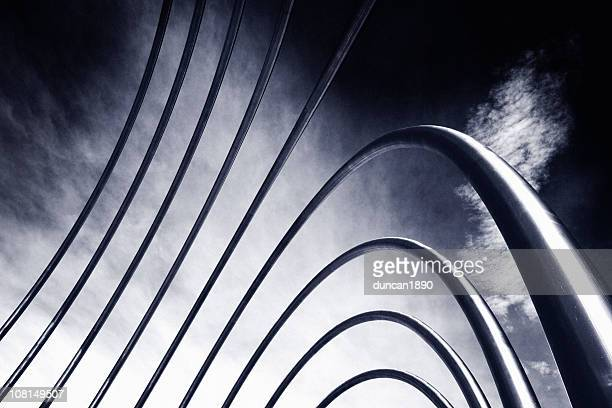abstract pipes - asymmetry stock pictures, royalty-free photos & images