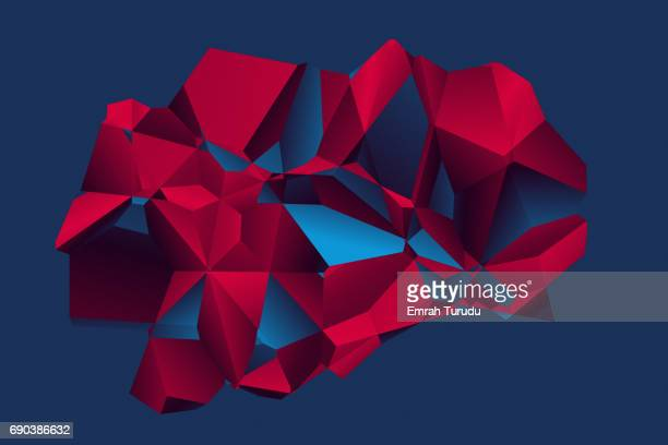 Abstract polygon model