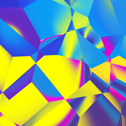 Abstract polygonal background - gettyimageskorea