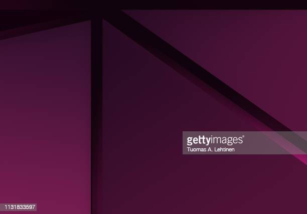 abstract purple and pink polygonal vector background. geometric vector illustration, creative design template. - banner vector stock pictures, royalty-free photos & images