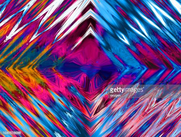 abstract radial light background - exploding glass stock photos and pictures