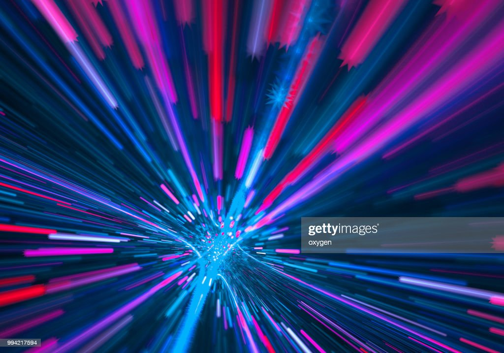 Abstract radial light background : Stock Photo