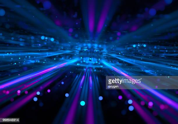 Abstract radial light background