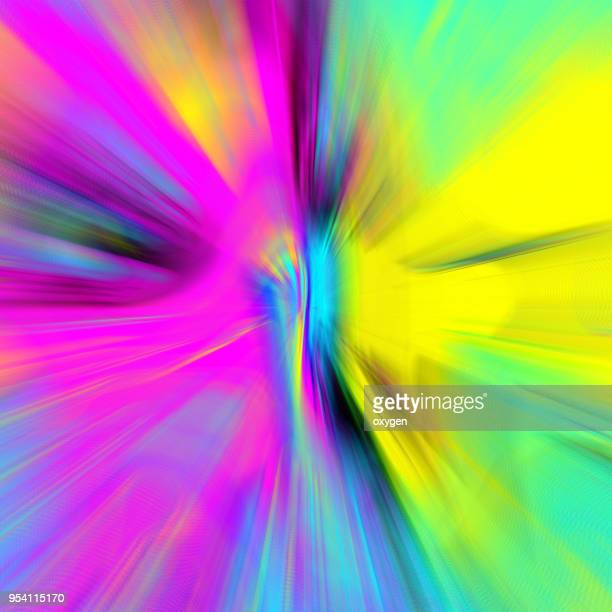 abstract radialbright multicolor background - pops of bright color stock pictures, royalty-free photos & images