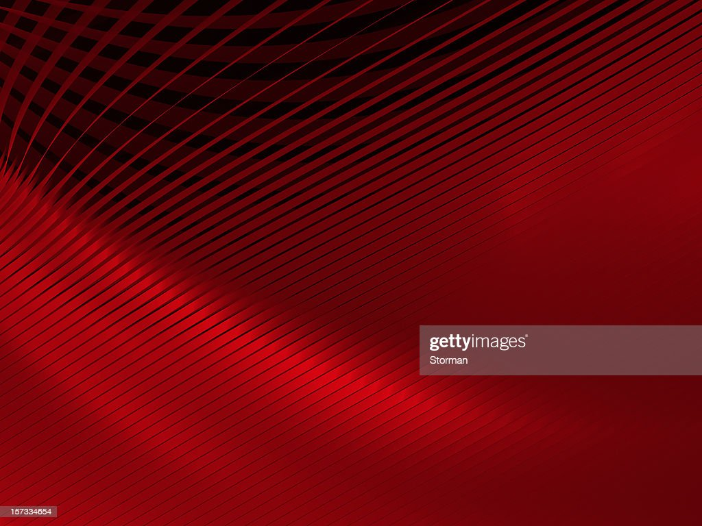 Abstrait rouge rayures : Photo