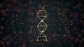 biotechnology concept abstract representation digital dna