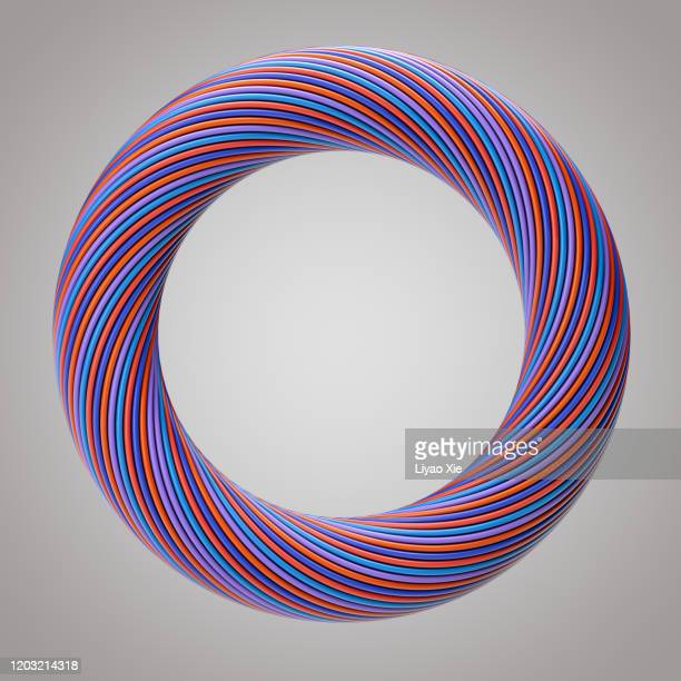 abstract ring - liyao xie stock pictures, royalty-free photos & images