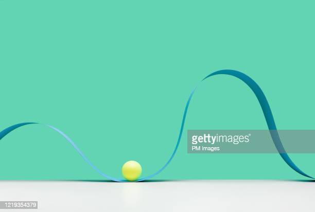 abstract roller coaster, at the bottom - continuous stock pictures, royalty-free photos & images