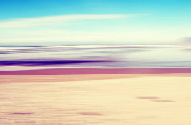 Abstract Seascape Background