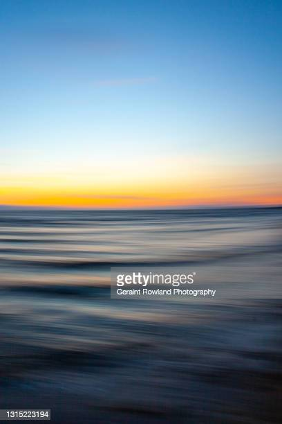 abstract seascape, scotland - geraint rowland stock pictures, royalty-free photos & images