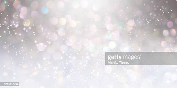 Abstract shiny light and glitter background