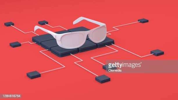 abstract smart glasses - big tech stock pictures, royalty-free photos & images