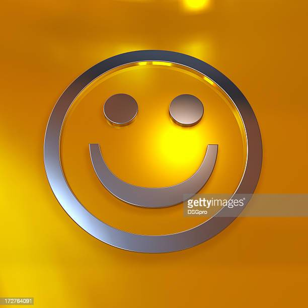 Abstract smile