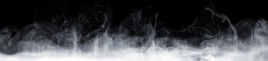 Abstract smoke move on black background 804319780