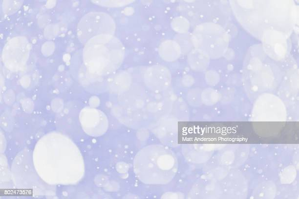 Abstract snow flakes - moody atmospheric backgrounds