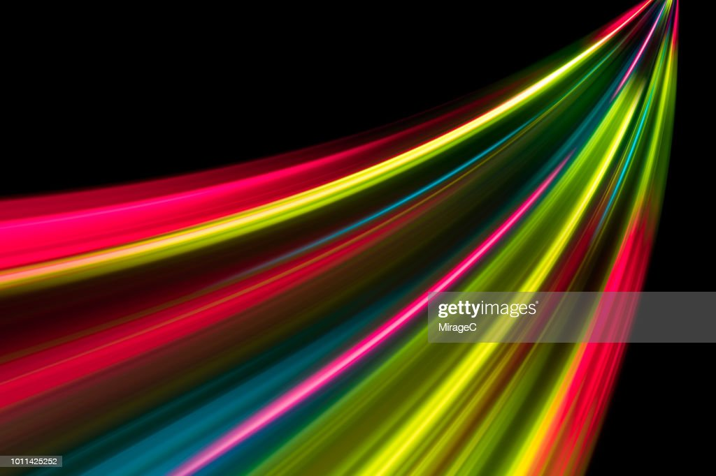 Abstract Speed Blur Light Trails : Stock Photo