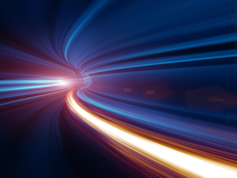Abstract Speed motion in tunnel 155148637