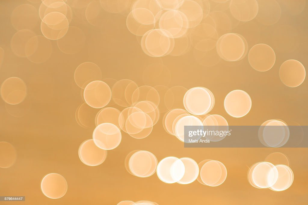 Abstract Spots Of Light : Photo