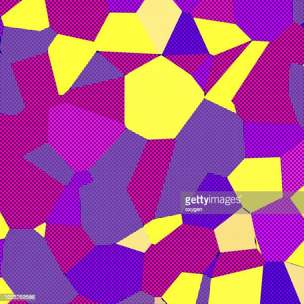 Abstract spotted geometric pattern background.