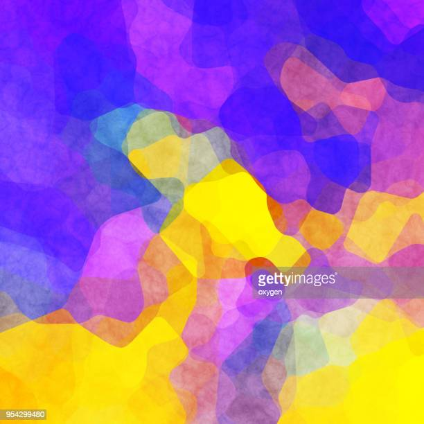 Abstract spotted yellow and violet pattern background