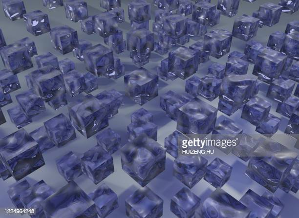 abstract squares, crystal - christmas island stock pictures, royalty-free photos & images