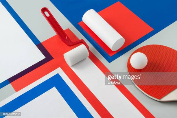 abstract still life - colour block stock pictures, royalty-free photos & images