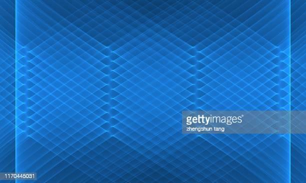 abstract striped net background. - 菱型 ストックフォトと画像