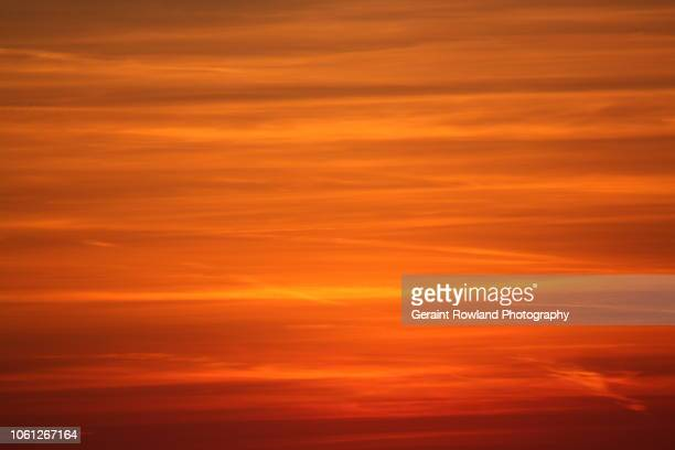 abstract sunset - screen saver stock photos and pictures