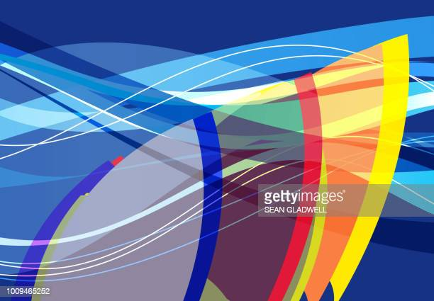 abstract surf graphic - draft sports stock pictures, royalty-free photos & images
