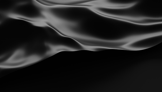 Abstract Surface. 3D Rendering 897487644