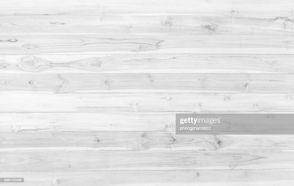 White Wood Floor Texture Abstract Surface Table Background Close Up Of