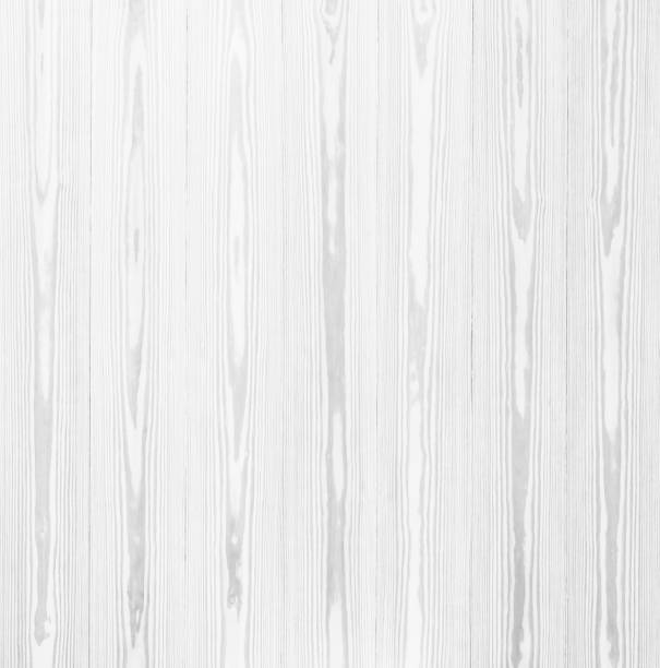 Abstract Surface White Wood Table Texture Background Close Up Of Dark Rustic Wall Made