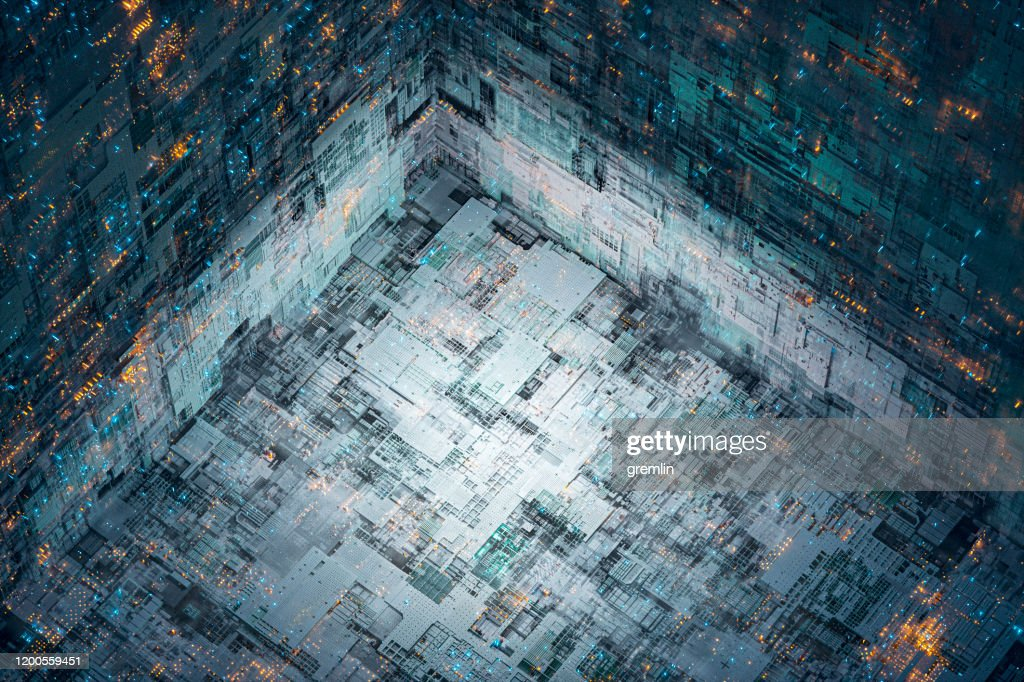 Abstract technology background image : Stock Photo