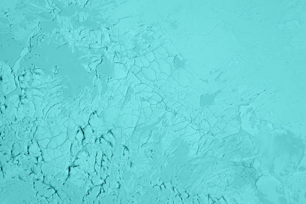 Abstract Texture of pastel  Turquoise Mint Green Blue color 2022.