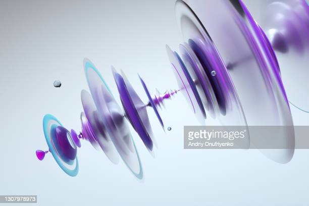 abstract three dimensional waveform - science stock pictures, royalty-free photos & images