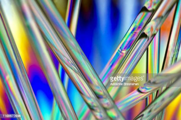 abstract tubes design - cylinder stock pictures, royalty-free photos & images