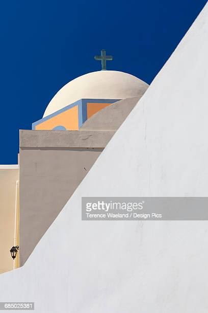abstract view of greek church - terence waeland stock pictures, royalty-free photos & images