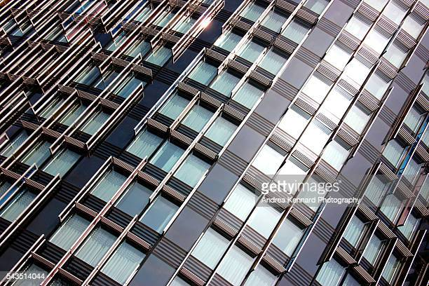 Abstract view of modern architecture