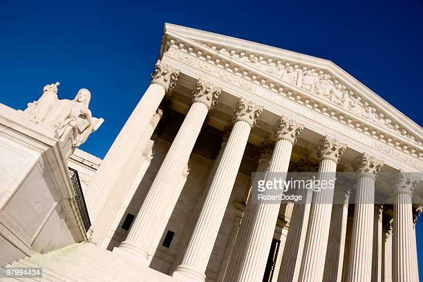 Abstract View of U.S. Supreme Court