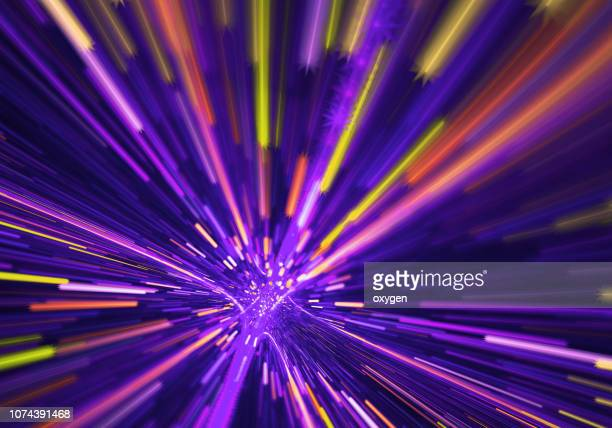 Abstract violet radial light background