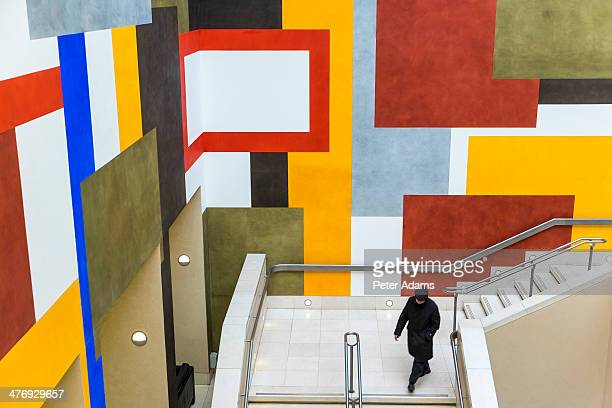 Abstract wall decoration, Tate Britain, London