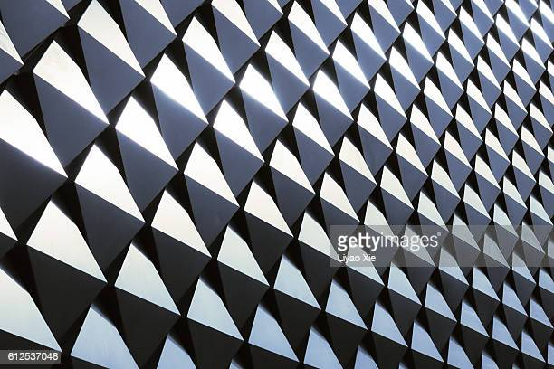 abstract wall - geometric patterns stock photos and pictures