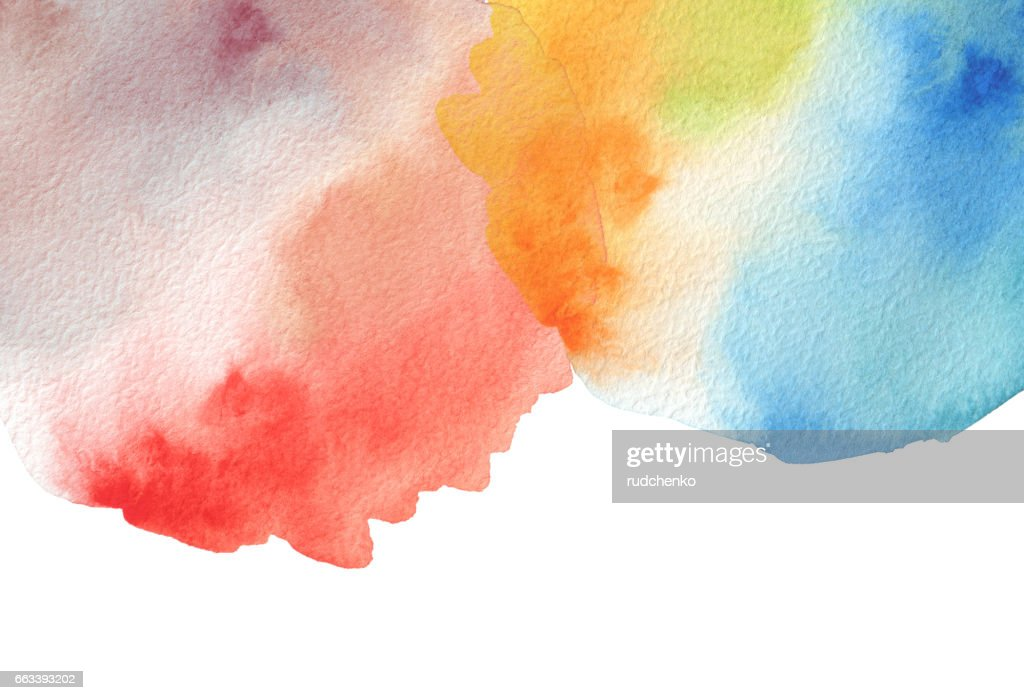 Abstract watercolor blot painted background texture paper isolated abstract watercolor blot painted background texture paper isolated business card template reheart Image collections