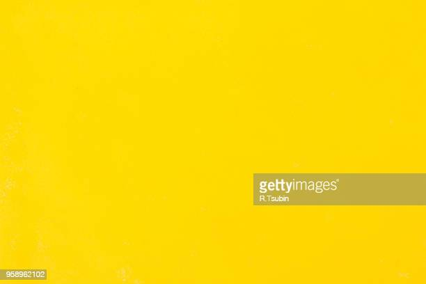 Abstract watercolor hand painted paper background - yellow