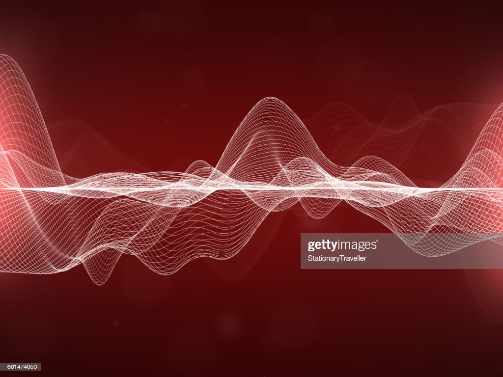 Abstract Wavy Lines : Stock Photo