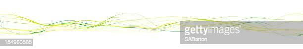 Abstrait lignes ondulées-Super XXXX Grand
