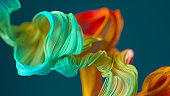 Abstract wavy object