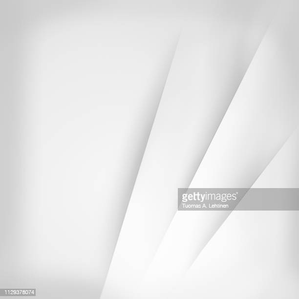 abstract white background with layered papers - multi layered effect stock pictures, royalty-free photos & images